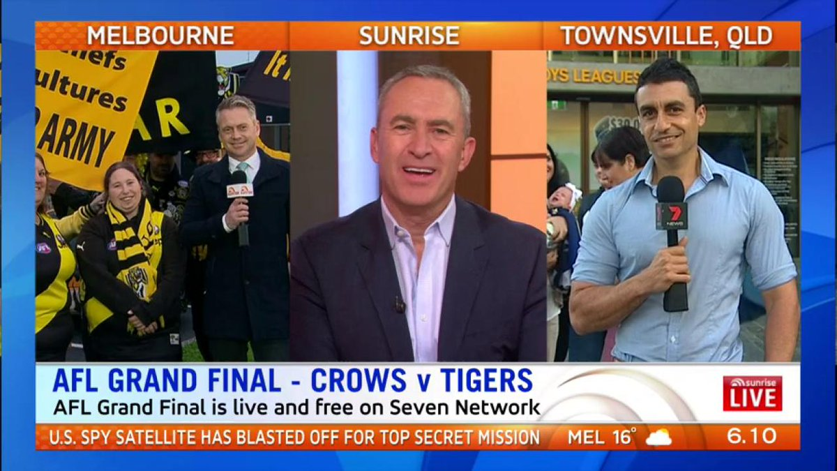 Heading towards the biggest weekend in Aussie sport including the NRL G.F. @josh_massoud is covering @nthqldcowboys fairy-tail #7News