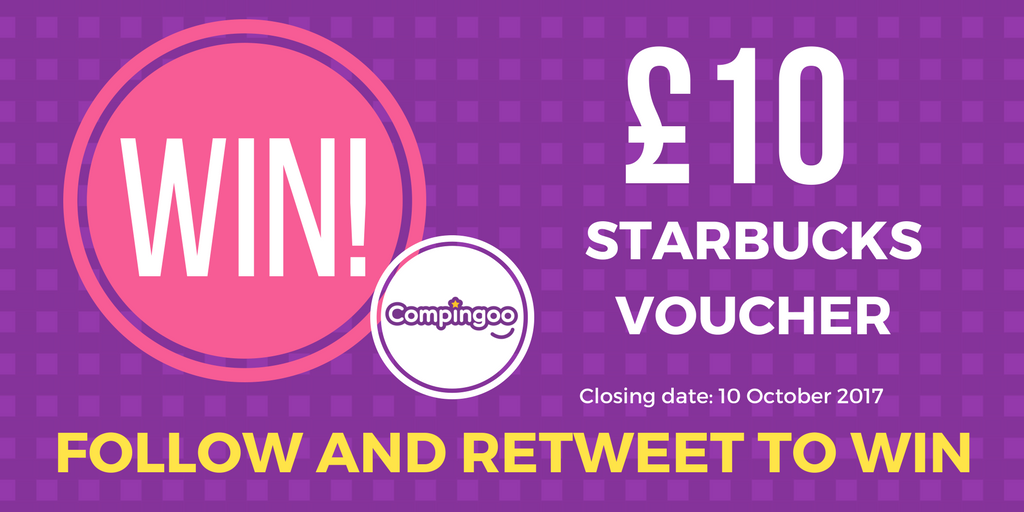 #WIN! A £10 #starbucks voucher in our pre-launch #party! Simply #RETWEET and #FOLLOW to enter! #compingoocomps #competition #giveaway  <br>http://pic.twitter.com/YnR5qzVPou