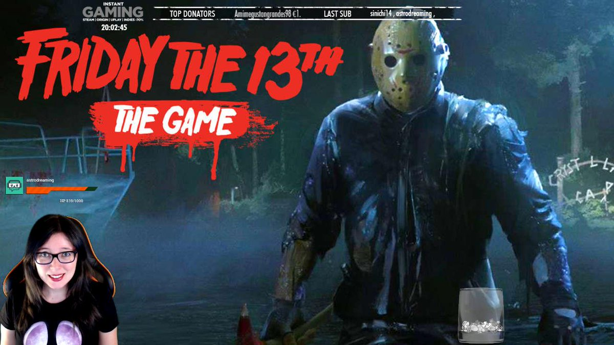 http:// twitch.tv/ardashe  &nbsp;     Friday the 13th: The Game #streamer #twitch #directo #ardashe #terror #FridayThe13thTheGame<br>http://pic.twitter.com/0k1CHbihT5