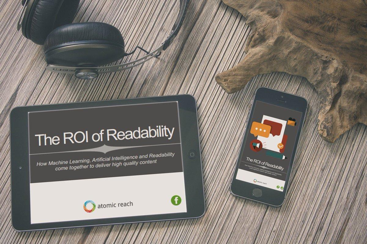 The #ROI of #Readability Ebook -  http:// bit.ly/2jdwRjv  &nbsp;  <br>http://pic.twitter.com/WEh4QEBct1