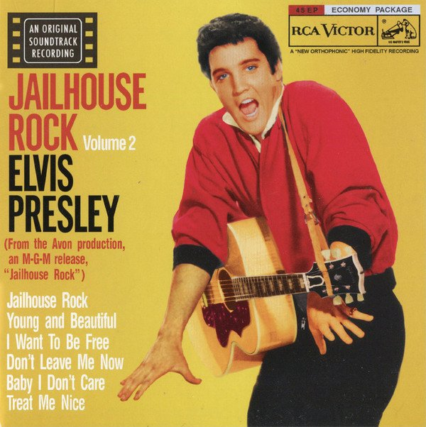"""#ElvisPresley released his song """"Jailhouse Rock"""" 60 years ago today. <br>http://pic.twitter.com/iz53Gobzo9"""