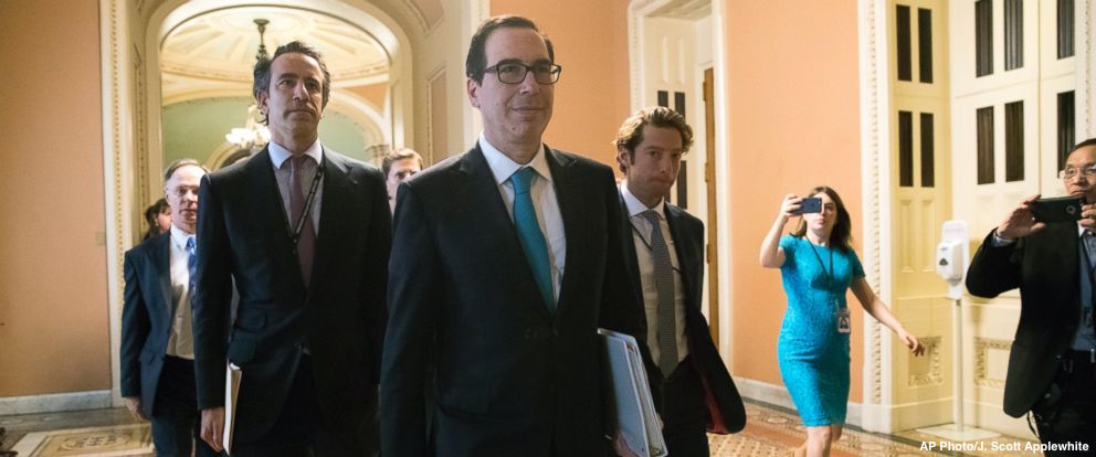 Sec. Mnuchin says use of costly government jet was necessary for 'secure communications' https://t.co/1P4kVgdgMI #ThisWeek