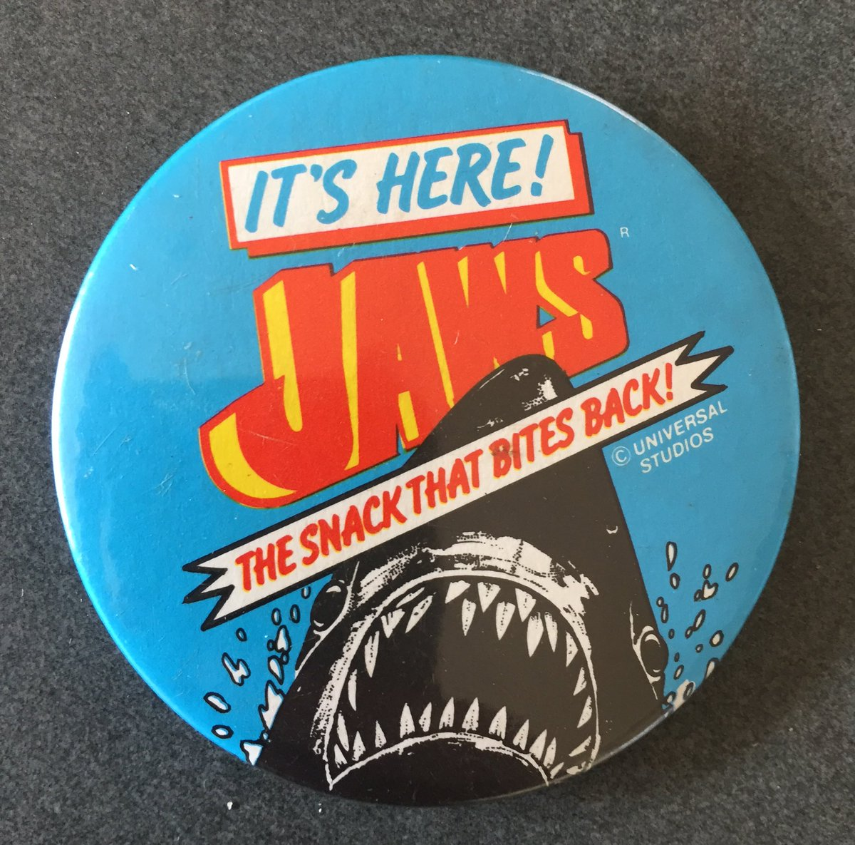 Just got this jawsome #Jaws gem...... @thedailyjaws @jawscast75 @JAWSwriter<br>http://pic.twitter.com/RRXZKahhLL