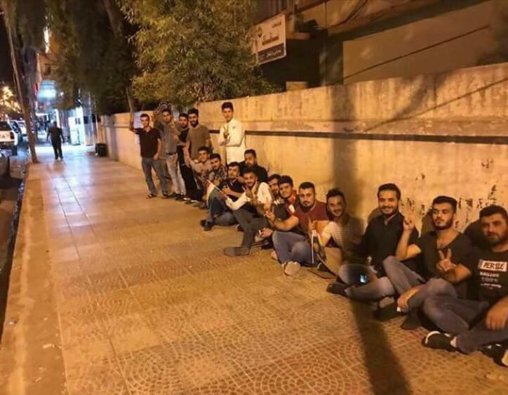 Voters in Zakho can not wait until morning. They already started to bu...