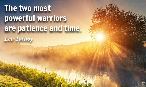 The two most powerful warriors are patience and time. #ThinkBIGSundayWithMarsha #motivation #patience #mindset #mindfulness  #inspiration<br>http://pic.twitter.com/NpBDNHdxK3