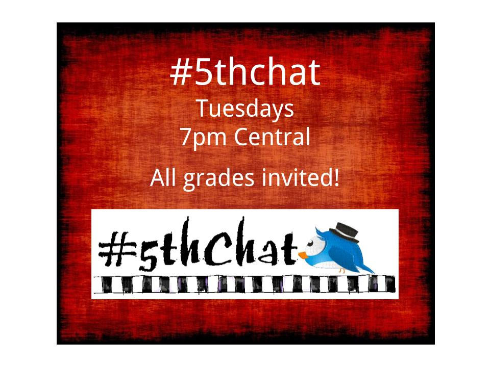 &quot;Project-Based Learning (PBL)&quot;  Please join @teachcaudill TUESDAY at 7pm Central for #5thchat.  #edtech #tlap #LearnLAP #4thchat #3rdchat<br>http://pic.twitter.com/t5kEwEFhi8