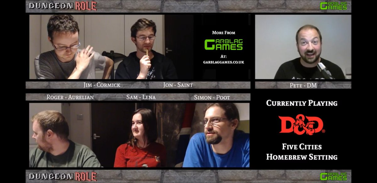 We are back with Season 2 of our #dnd5e show Five Cities! Join us on our adventures -  https:// youtu.be/AGYtqIKz3VQ  &nbsp;   #letsplay #dnd #tabletop<br>http://pic.twitter.com/JS6WA9iwgk