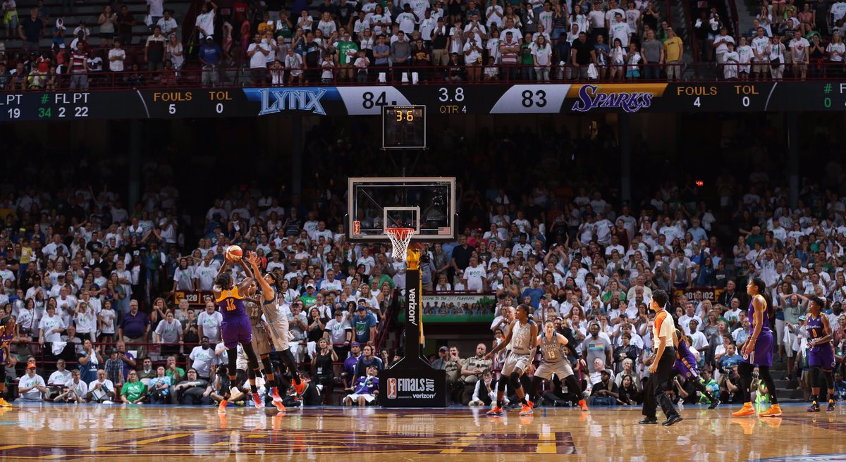 The GAME-WINNER! #WNBAFinals https://t.co/SqGBtqkDrL