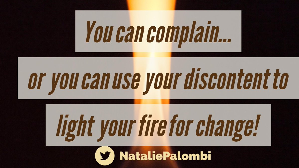 Which do you choose today? Complain or change? :) #inspiration #hustle #smallbiz #motivation#ThinkBIGSundayWithMarsha<br>http://pic.twitter.com/TLO6P6qbl6