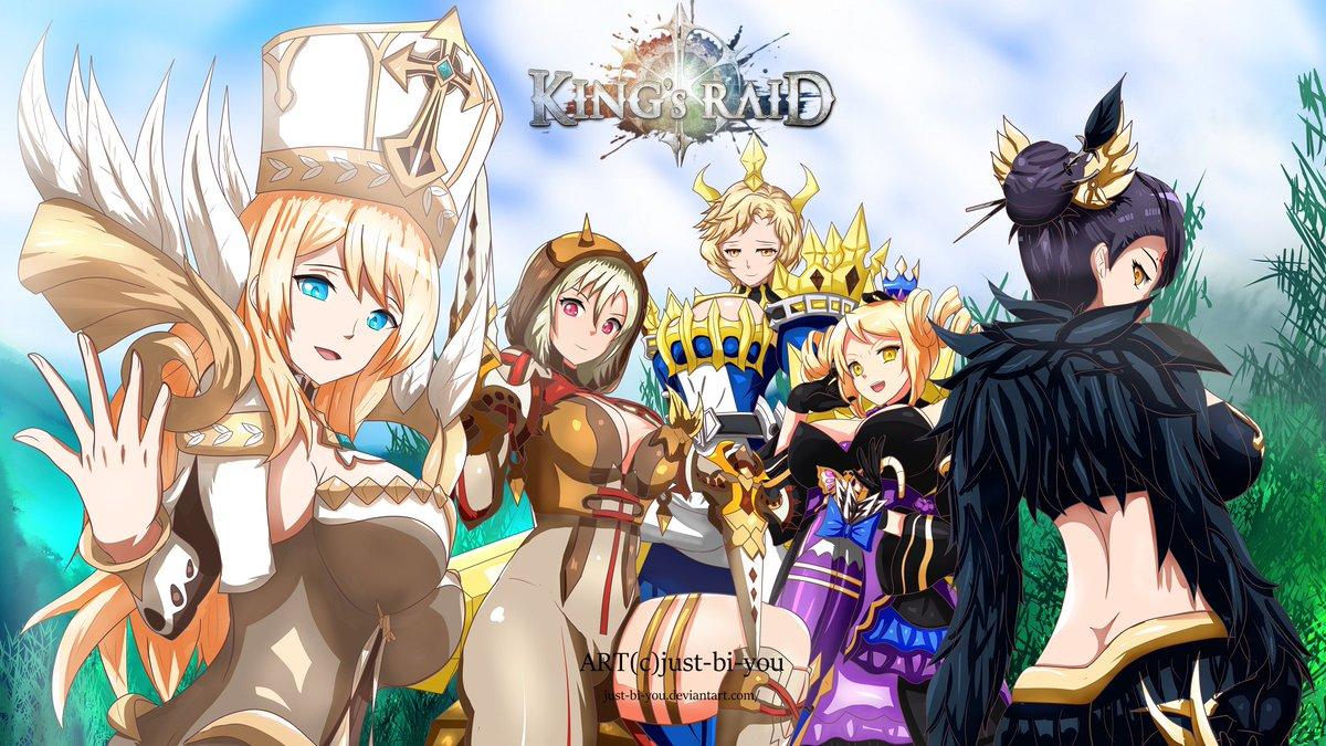 Kings Raid Fanart Contest Christmas 2020 kingsraidfanart hashtag on Twitter