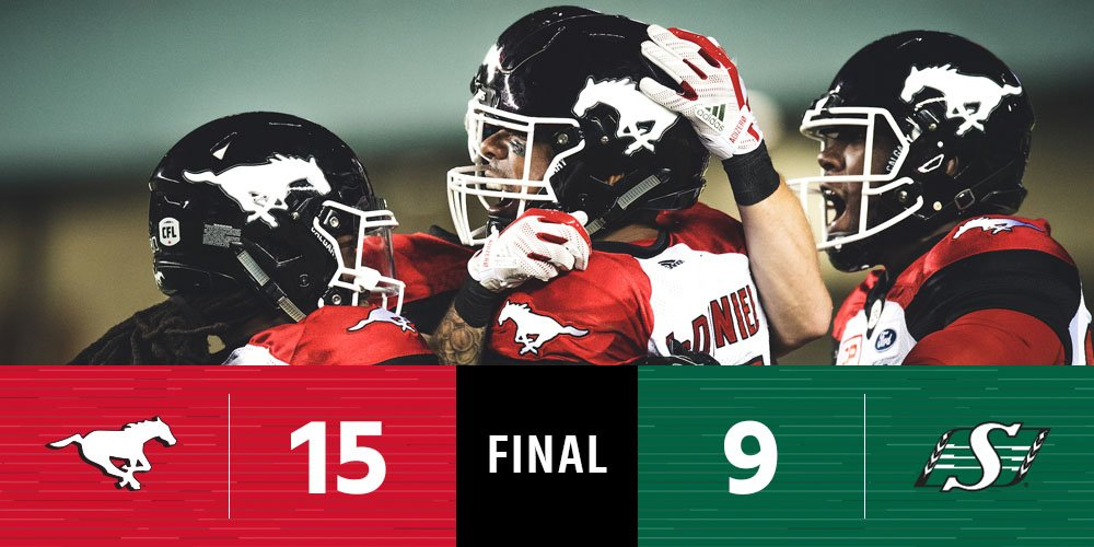 The @calstampeders survive a late scare to move to 11-1-1.  #CFLGameDa...