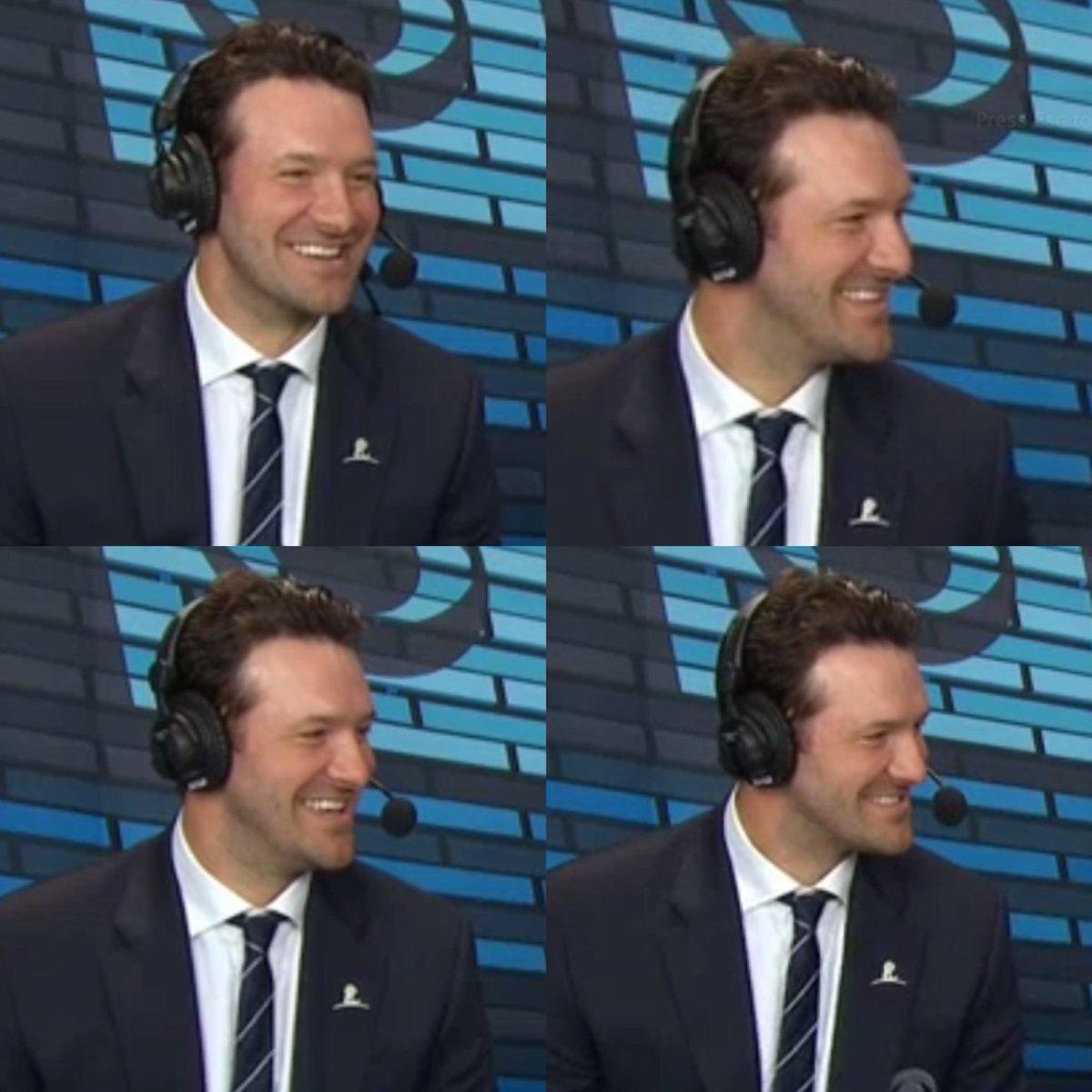 Tony Romo is the happiest man in America https://t.co/NanRCymakl