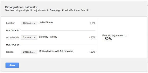 The Math Behind AdWords Bid Adjustments (Hint: There&#39;s a calculator in your dashboard!)  http:// stfi.re/gpvwlze  &nbsp;   #PPC #AdWords #SEM<br>http://pic.twitter.com/0t2iCqq3kn