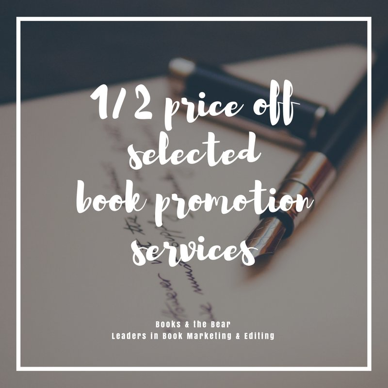 1/2 price off selected book promotion services! Book now before sale ends!  http:// bit.ly/2j2wCYn  &nbsp;   #authors #indieauthors #books #ebooks<br>http://pic.twitter.com/2dAABGnekF