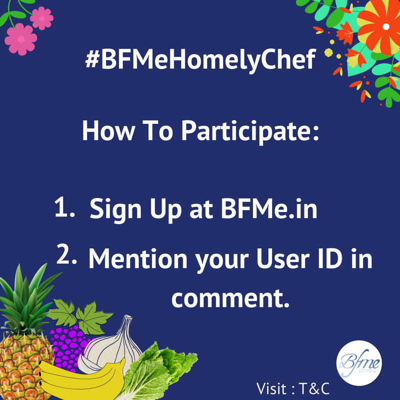 #BFMeHomelyChef #contestalert #champions participate and take selfies with the given task to win international goodies. <br>http://pic.twitter.com/lhNtgHLtIq