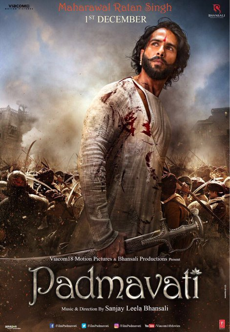 #MaharawalRatanSingh #Padmavati @FilmPadmavati https://t.co/nfsXLl2OMY