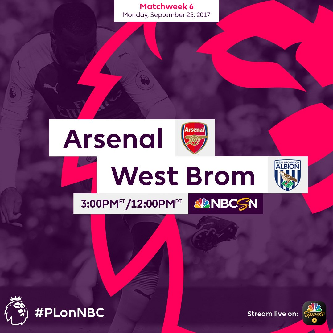 The easiest way to improve a Monday is by having a #PL match! 🙌  #ARSW...