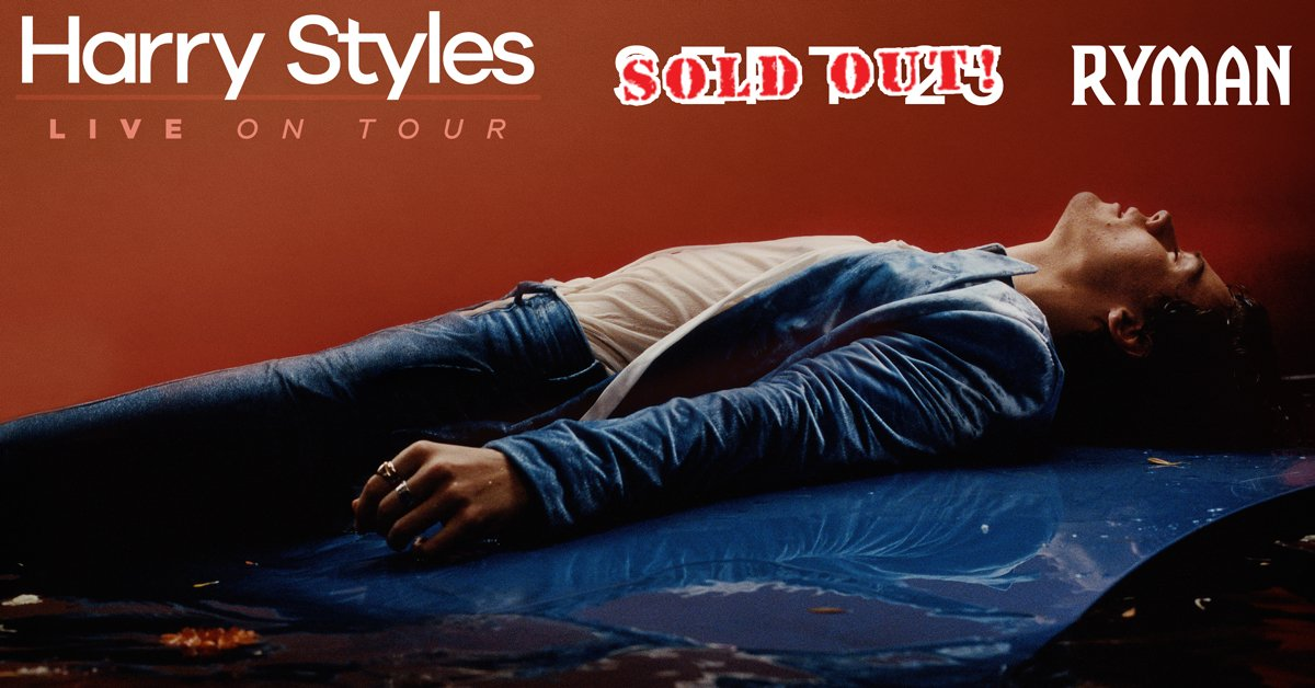 TOMORROW: @Harry_Styles at the Ryman! // SOLD OUT 💒 doors open at 7pm...