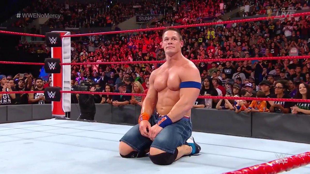 #ThankYouCena   #WWENoMercy @JohnCena https://t.co/cz0czguwFX