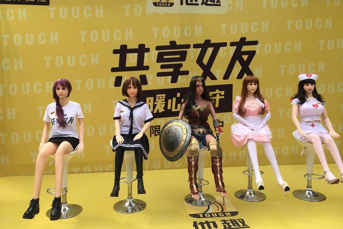 Les poupées gonflables de location, lancées en grande pompe la semaine dernière en Chine, ont déjà été retirées ... https://t.co/dw3ufD6FoG