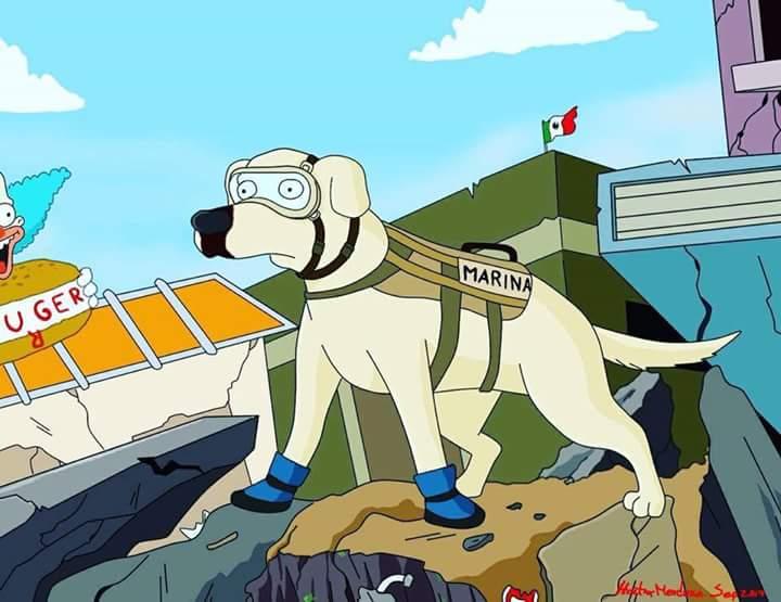 Los Simpson crean homenaje a Frida https://t.co/PZXrUlAeMI
