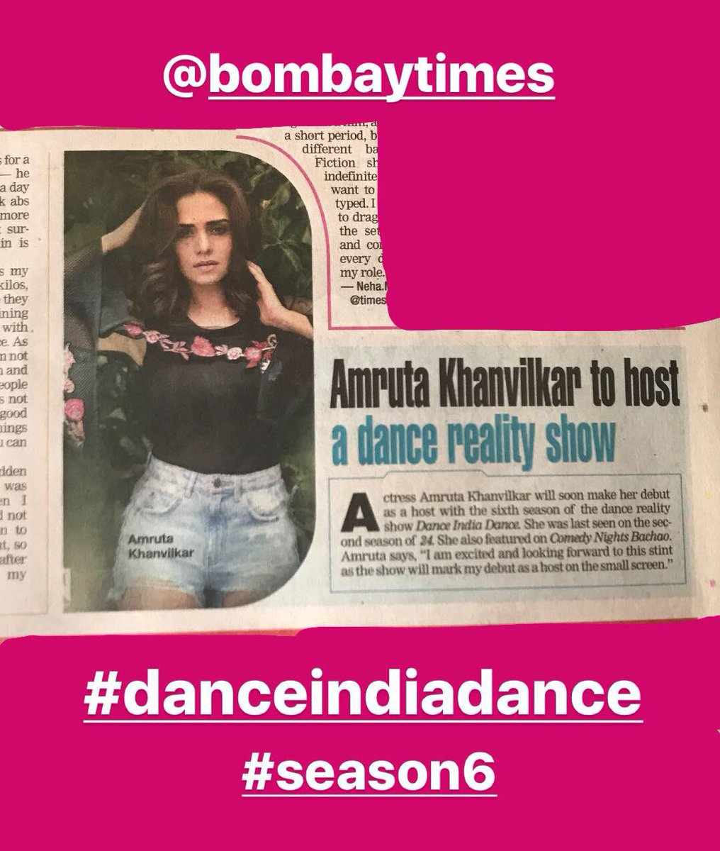 Something I m really excited about #danceindiadance #did #season6 @ZeeTV<br>http://pic.twitter.com/foMd7ZkpdI