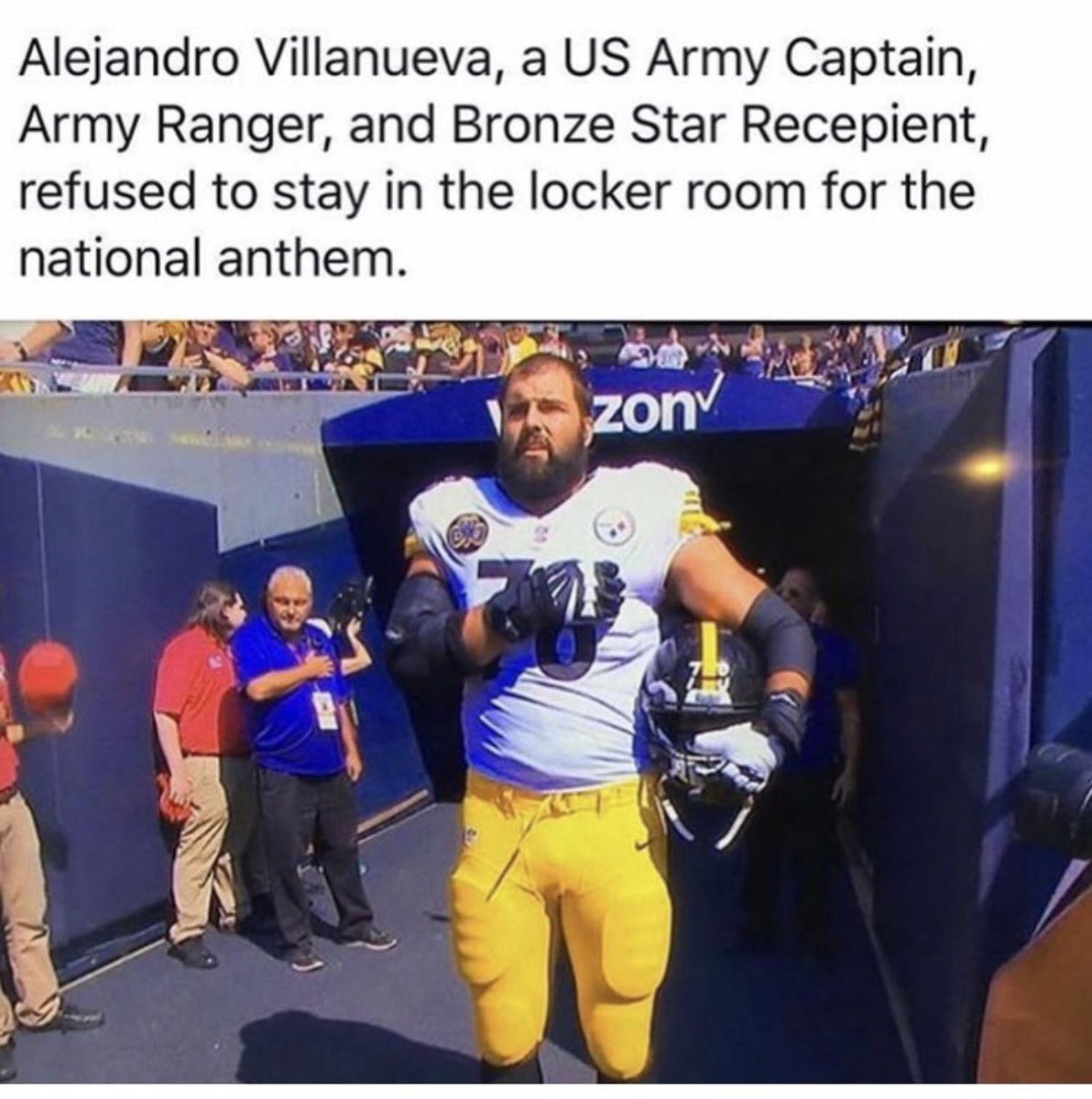 This is the man who should be invited to the #WhiteHouse  Superbowl or no #SuperBowl    Retweet if you agree @realDonaldTrump #NFL #Trump<br>http://pic.twitter.com/wJo1c2BriW