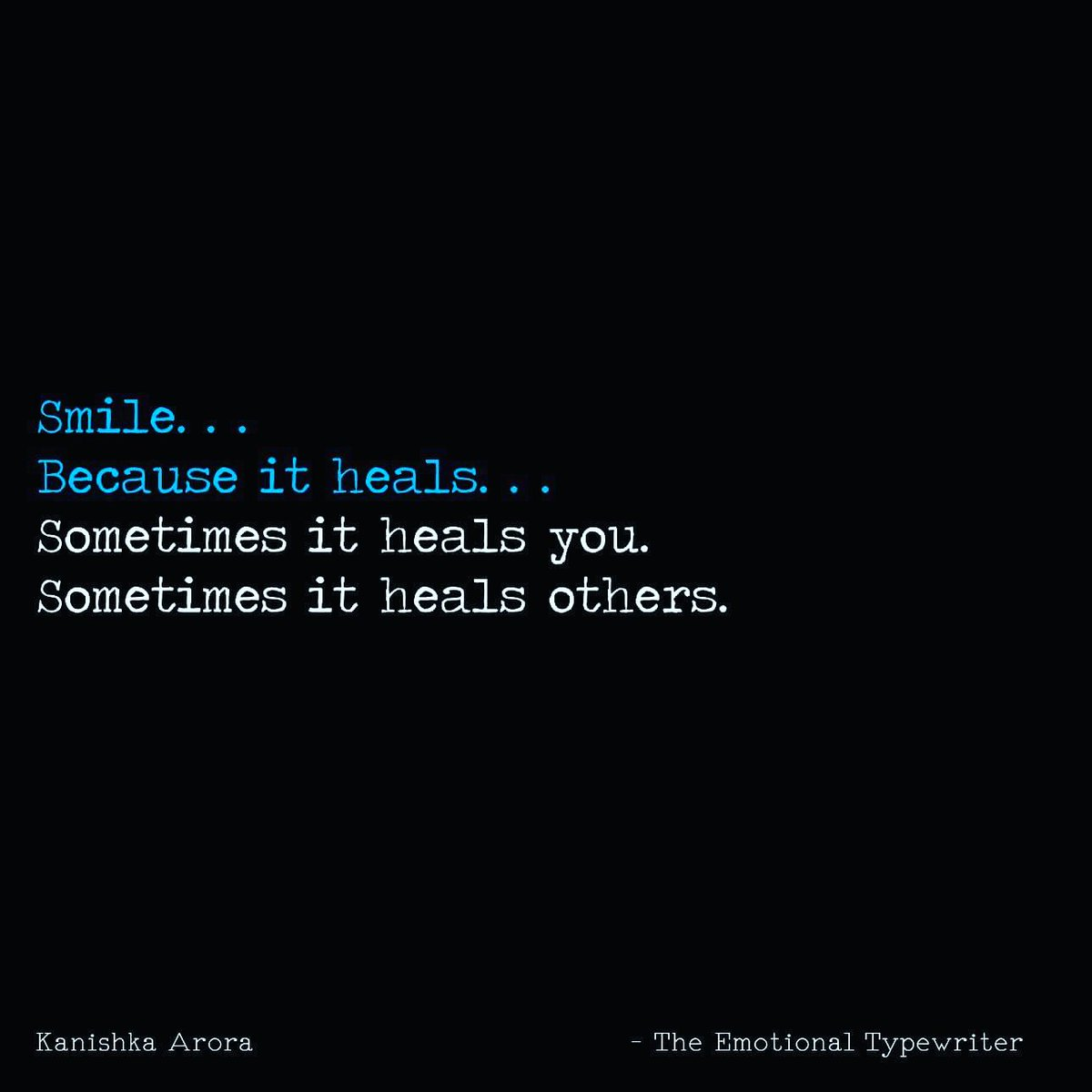 Emotionaltypewriter On Twitter Smile Quotes Emo