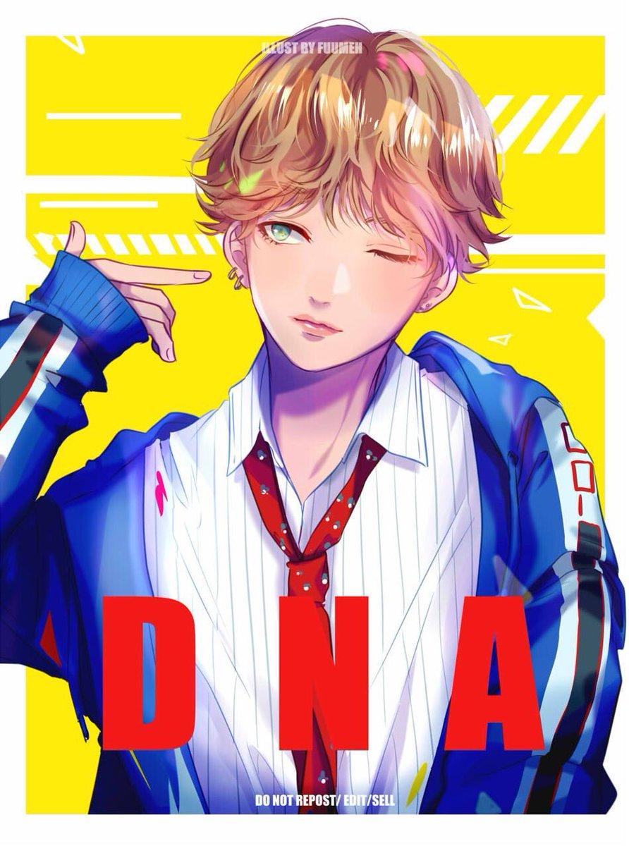 Was Suppose To Be V But Now Im Not Even Sure Djsjjdsjsjjs Bts DNA