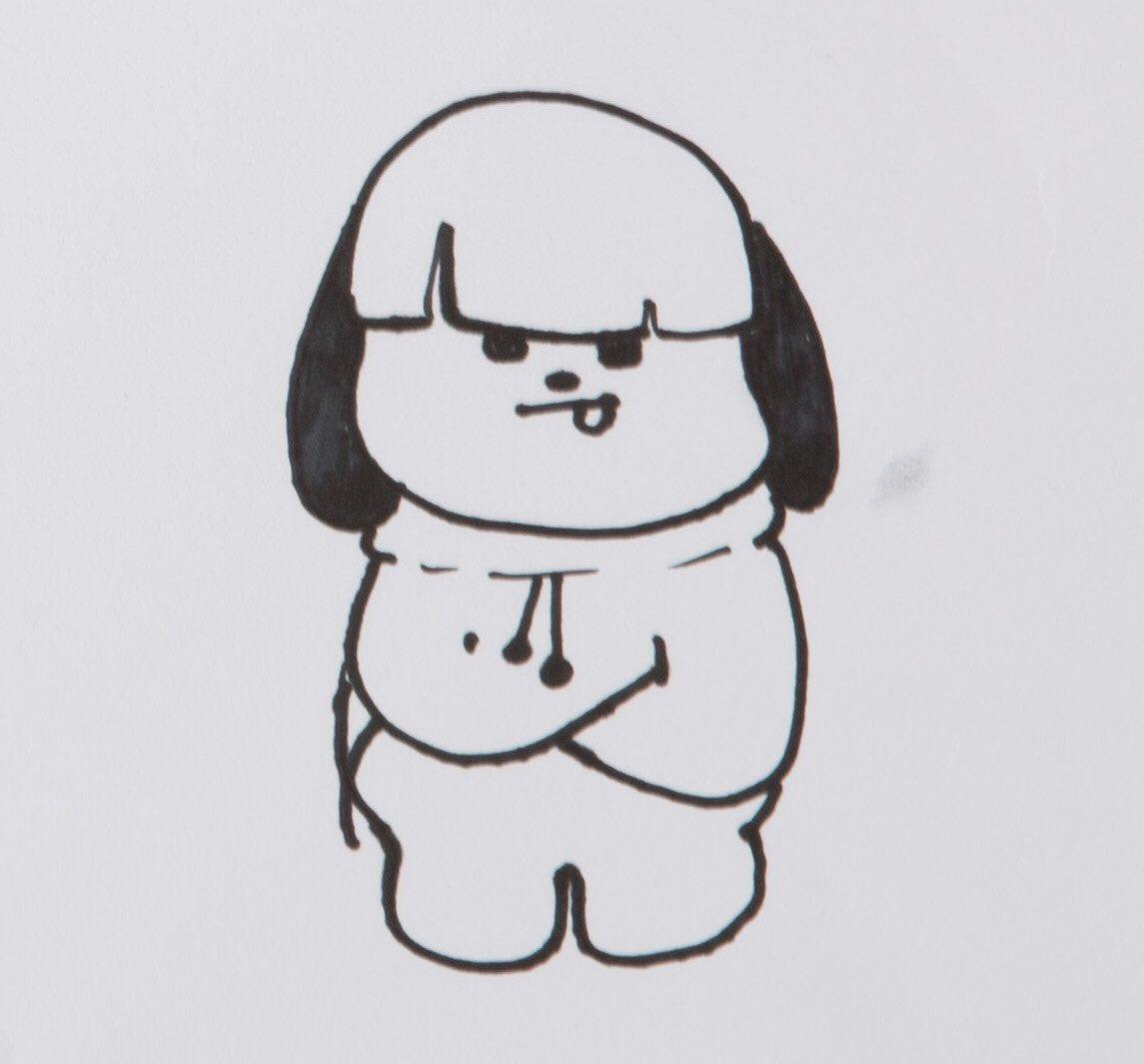 Bt21 On Twitter Quot 누가 그린 그림일까요7 Whose Drawing Chimmy 치미