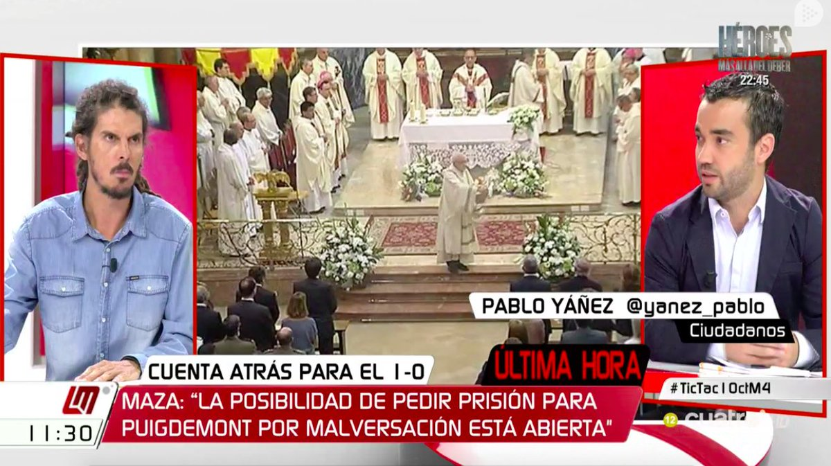 🔛 @yanez_pablo ya se encuentra en la #MesaPolítica de @mananascuatro....