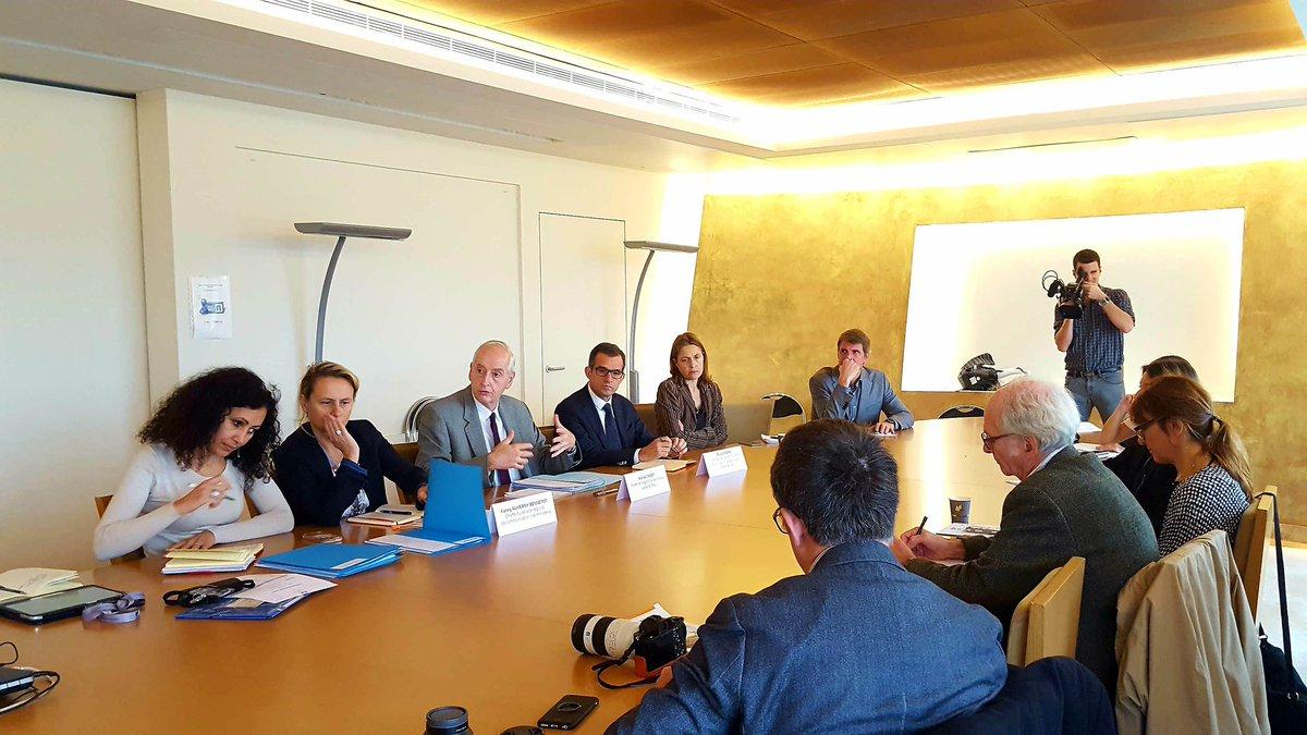 [#Conference] Début du point presse de rentrée : Michel Cadot @Prefet75_IDF rencontre les journalistes sur les priorités franciliennes #IDF