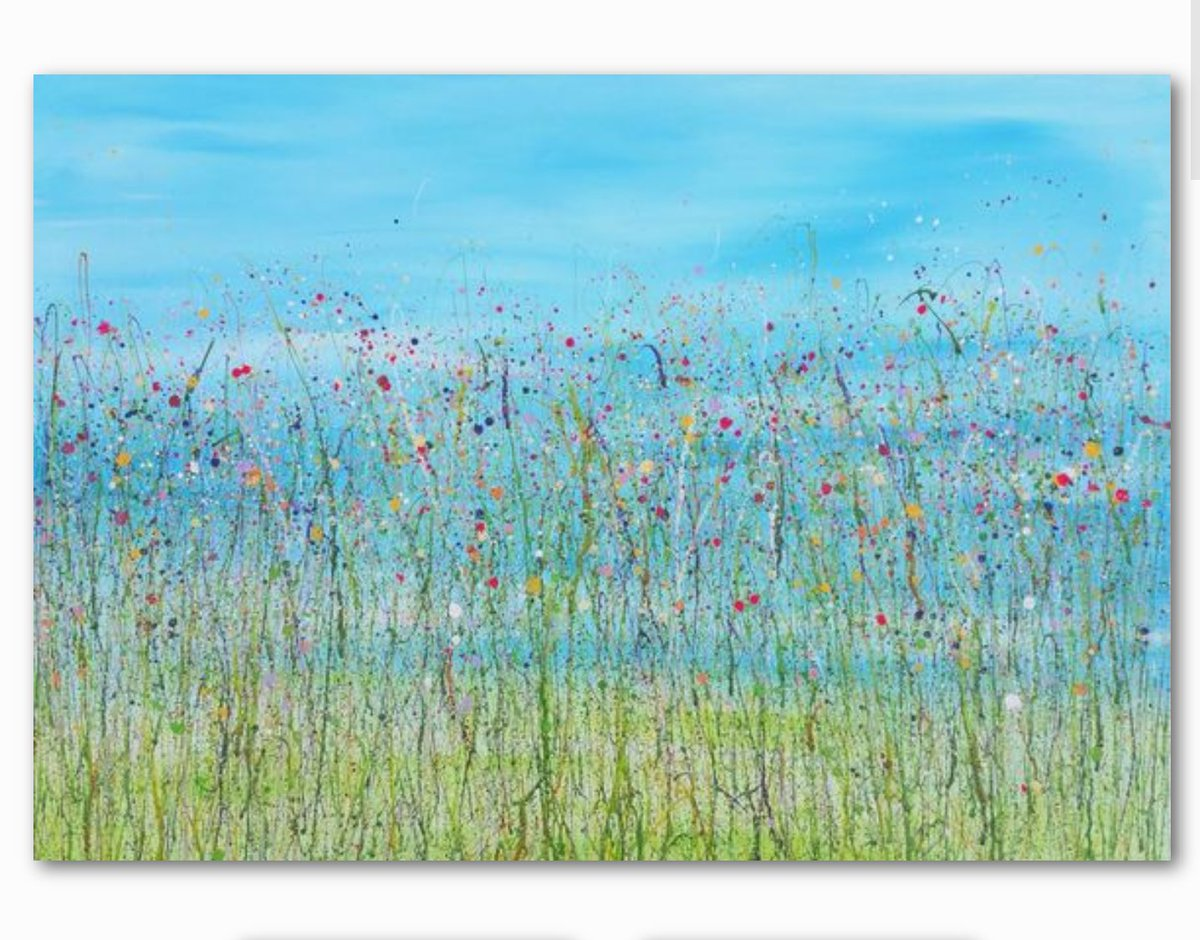 Thrilled to have sold these 2 #artworks via @artfinder @JonasAlmgren  especially my large #abstract #meadow very happy #artist today  #art<br>http://pic.twitter.com/ek0sP8Spch