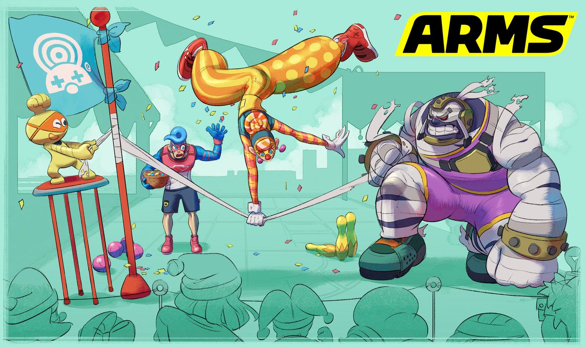 Have you clowned around with the new #ARMS fighter Lola Pop yet?   Meet Lola Pop:  http:// bit.ly/2xqOFSs  &nbsp;  <br>http://pic.twitter.com/yn12yAgWjZ