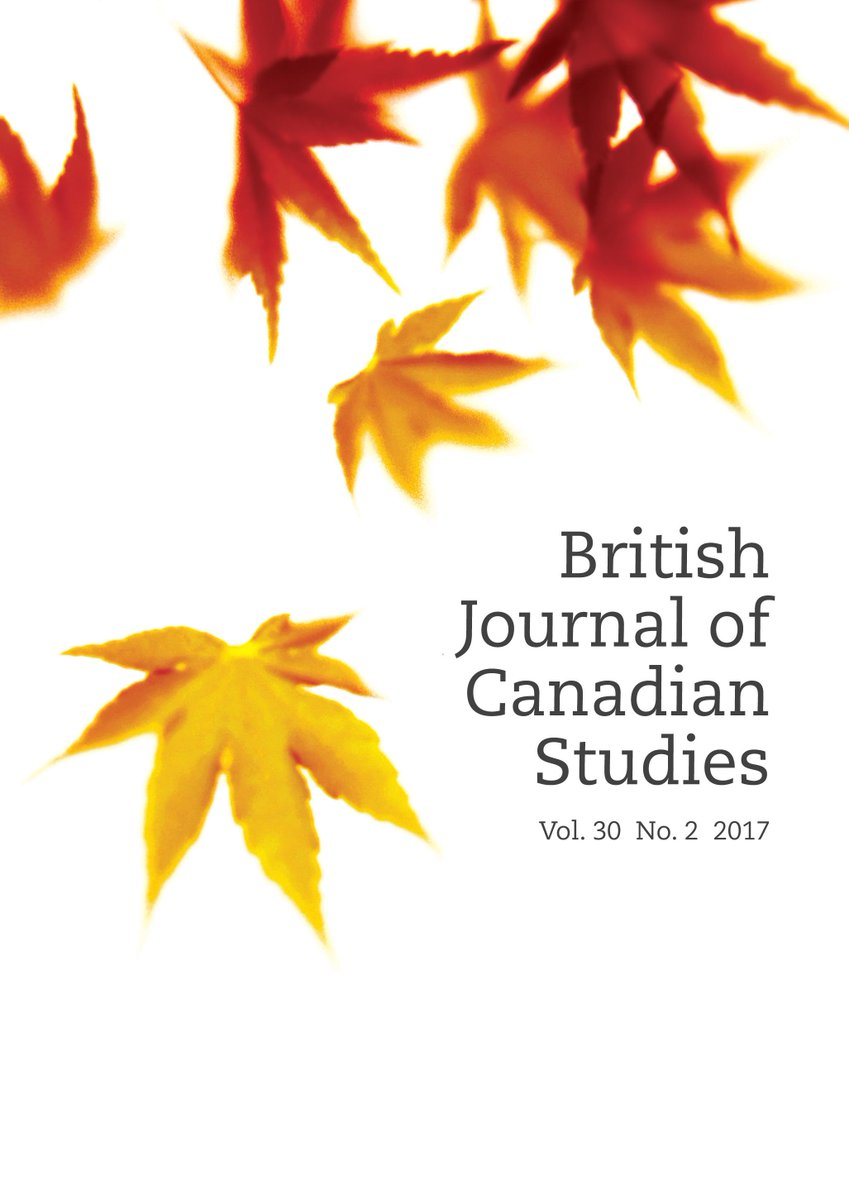 This article in the latest issue British Journal of Canadian Studies has an #almetrics score of 195! Read it here  http:// bit.ly/2xqiQci  &nbsp;  <br>http://pic.twitter.com/XLPmgGD2oh