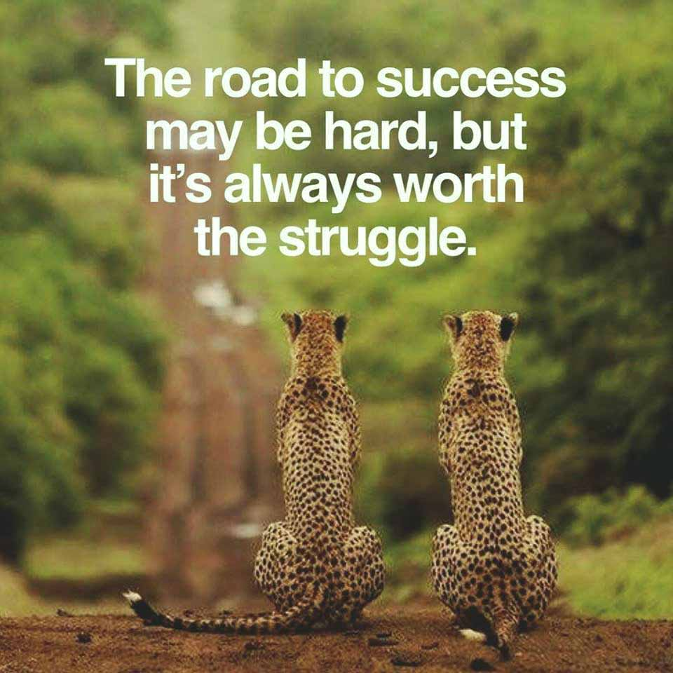 &quot;The Road to #Success may be hard, but It&#39;s always worth the struggle&quot;. #Quote, #Quoteoftheday, #Startups, #Entrepreneur, #Startupfounders <br>http://pic.twitter.com/qujRcpcZMS