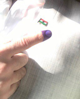 Words cannot describe my emotions after voting in Kurdistan's referend...