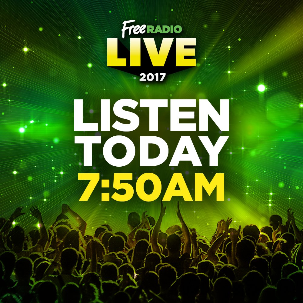Here goes! Your first two #FreeRadioLive announcements are coming this...