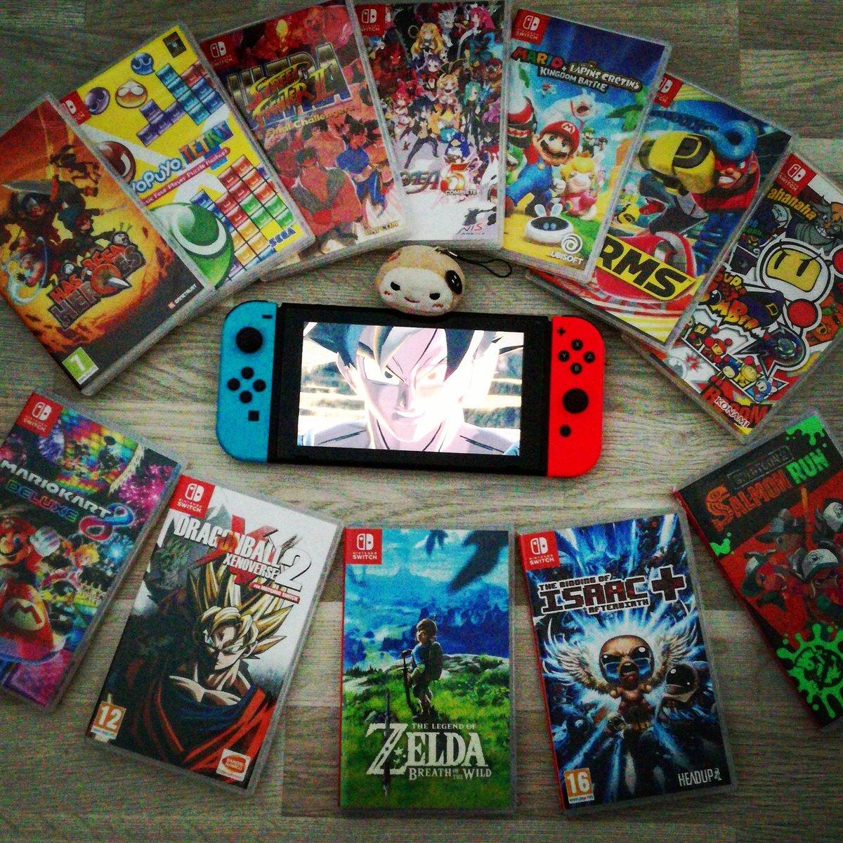 No games on switch? #zeldabreathofthewild #mk8d #mariorabbits #splatoon2 #ultrastreetfighter2 #arms #disgaea5 #dragonballxenoverse2... Etc<br>http://pic.twitter.com/t8YKhxUTt4