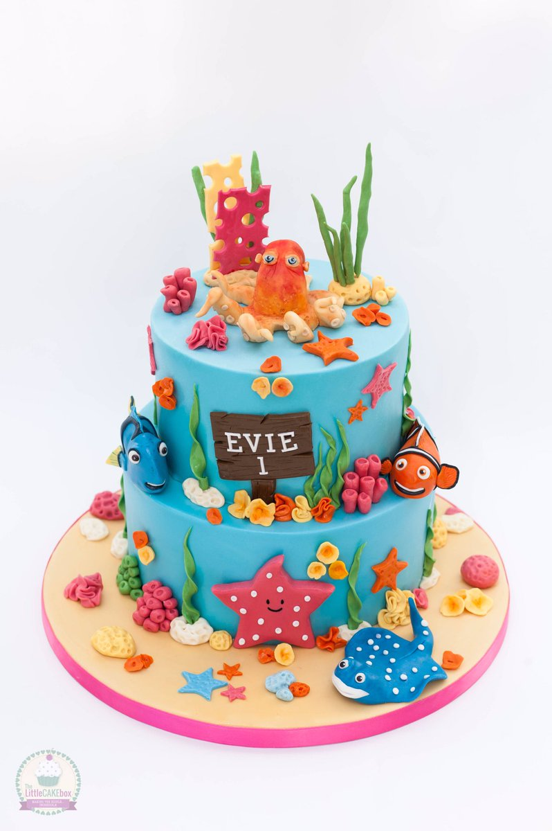 The Little Cake Box on Twitter Finding Nemo for Evies 1st