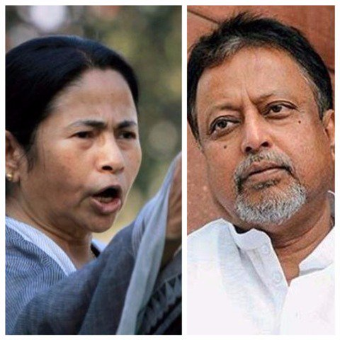 Huge setback for @MamataOfficial : MP #MukulRoy resigns from #TMC   http://www. abplive.in/india-news/hug e-setback-for-mamata-mp-mukul-roy-resigns-from-tmc-584549 &nbsp; … <br>http://pic.twitter.com/WPWj0SEn5m