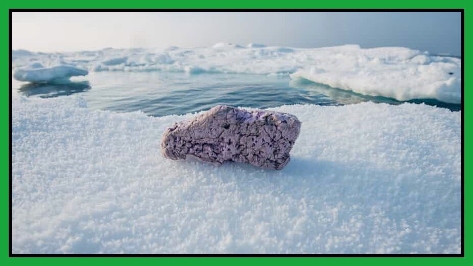 Plastic chunks on Arctic ice show how far pollution has spread.     http:// ow.ly/xkWQ30foxlK  &nbsp;   #plastic #oceans #pollution #fish <br>http://pic.twitter.com/ydC909bHyg