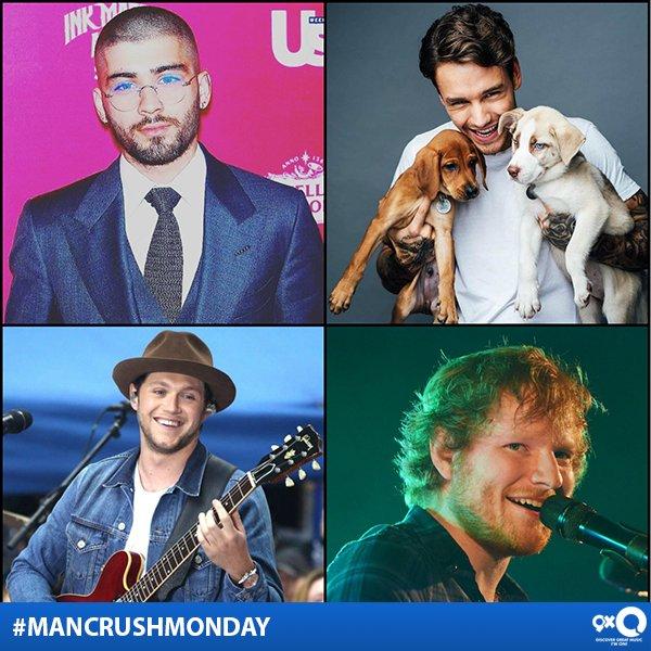 It&#39;s #ManCrushMonday &amp; we&#39;ve got #Zayn, #LiamPayne, #NiallHoran &amp; #EdSheeran on the stage! Who&#39;s your pick?<br>http://pic.twitter.com/fKa7zDSXro