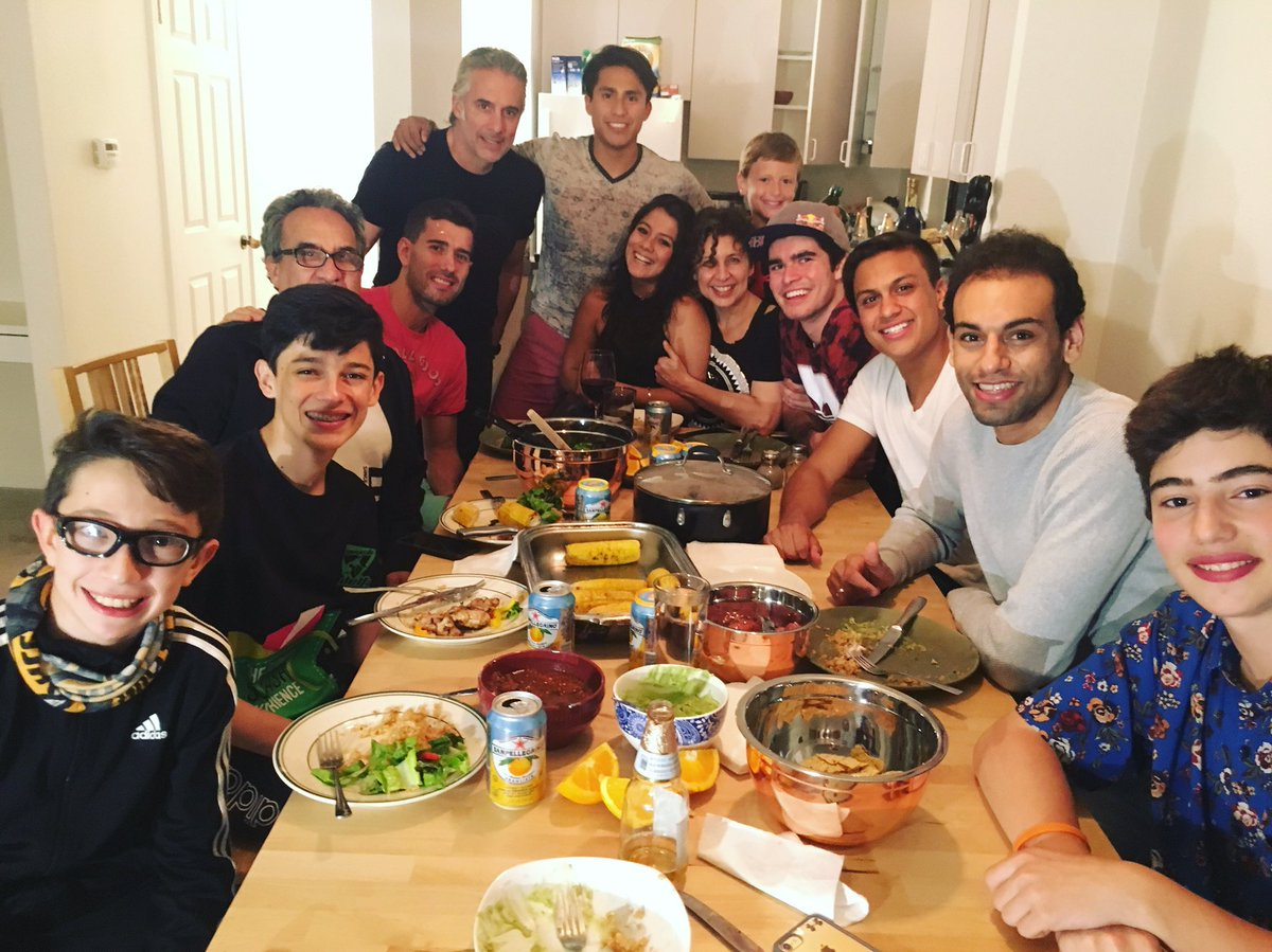 Mohamed Elshorbagy On Twitter Dinner With My Mexican Family Here In San Francisco You Guys Are The Best