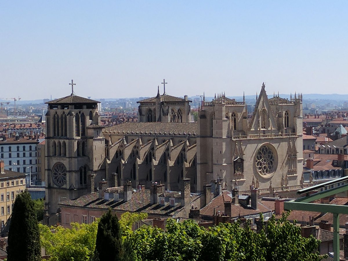 Sept 25: Feast of Lupus (†542); a monk &amp; later bishop of #Lyon during annexation of Burgundian kingdom ©Jan.Keromnes <br>http://pic.twitter.com/ugD7ZP7MDS