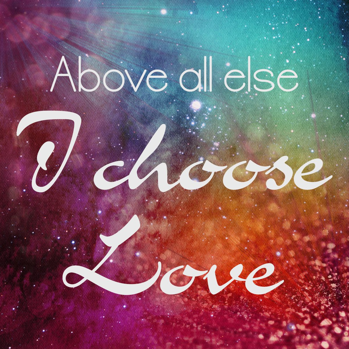 Above all else... I choose love. #lawofattraction #manifestation #chooselove<br>http://pic.twitter.com/5V6mibLPBr