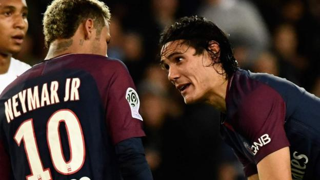 Edinson Cavani has rejected a £1m payout from PSG's owners in exchange...