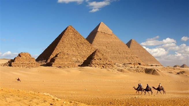 Piramitlerin merak edilen sırrı ortaya ç...