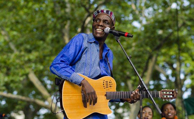 Happy 65th birthday Zimbabwean great singer of all times Oliver Mtukudzi.
