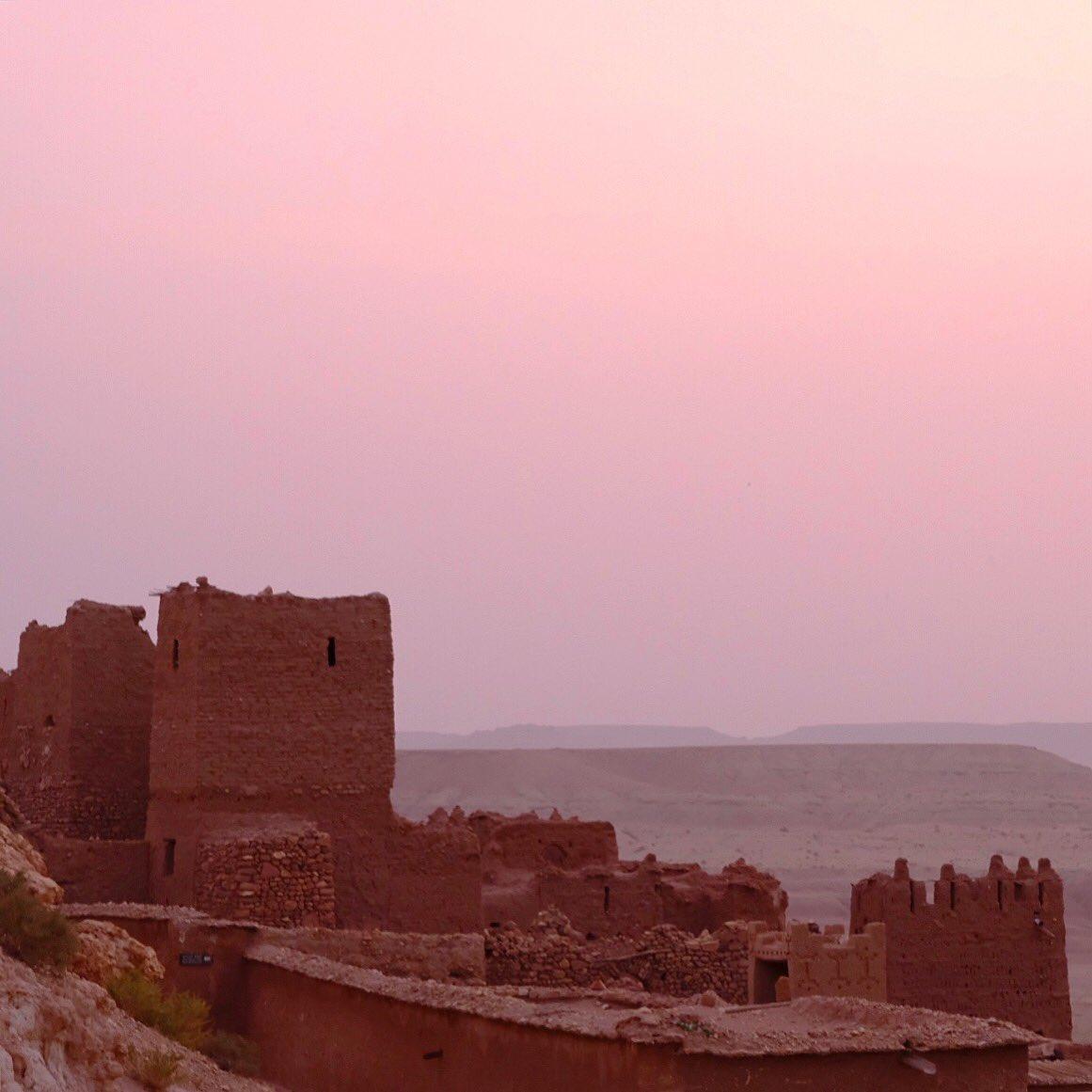 Sunrise from the Kasbah  Visit the website @  http://www. palebluedotphoto.ca  &nbsp;    #meknes #casablanca #marrakech #  #maroc #moroccan_beauty<br>http://pic.twitter.com/5uKQwD0oYC